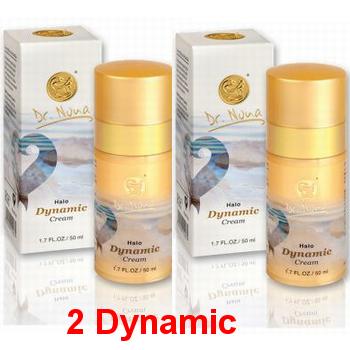 DYNAMIC CREAM קרם לחות לפנים אריזת חיסכון 2 Dynamic